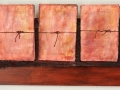 Untitled (with string) mixed media 13x48 2011