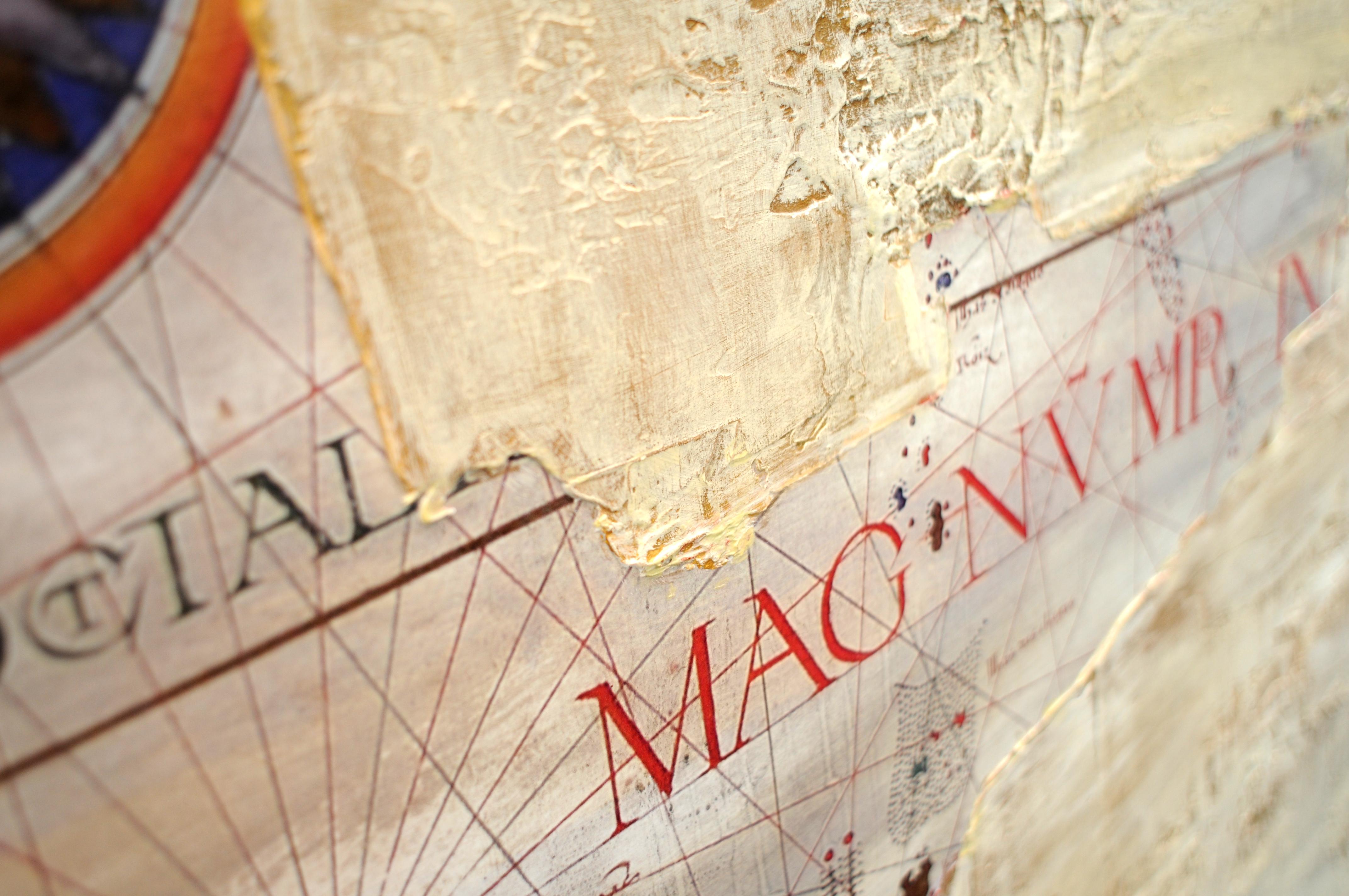 Mourao Mare Atlanticum II (detail)